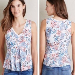 🎉5 for $25🎉 Anthropologie Deletta Floral Top